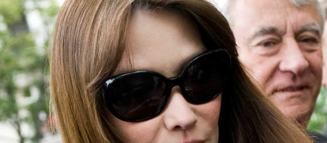 Carla Bruni-Sarkozyn'est pas enceinte