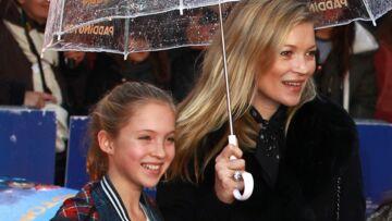 Lila-Grace, la fille de Kate Moss, pose pour sa première campagne de pub