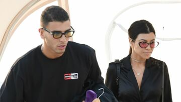 Kourtney Kardashian et son chéri français Younes Bendjima: ils ne se cachent plus
