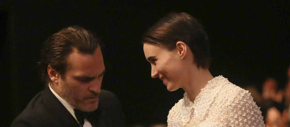 PHOTO- Première apparition officielle à Cannes pour le couple Joachin Phoenix et Rooney Mara
