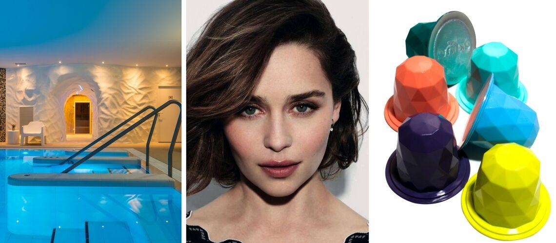 Emilia Clarke égérie Dolce & Gabbana, la bonne adresse spa… Les 5 indispensables beauté de la semaine