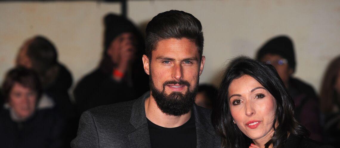 PHOTOS – Sortie en amoureux pour le beau gosse du foot, Olivier Giroud, et sa femme Jennifer