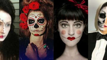 Maquillage Hallo­ween : 30 idées make-up Hallo­ween à copier repé­rés sur Pinte­rest