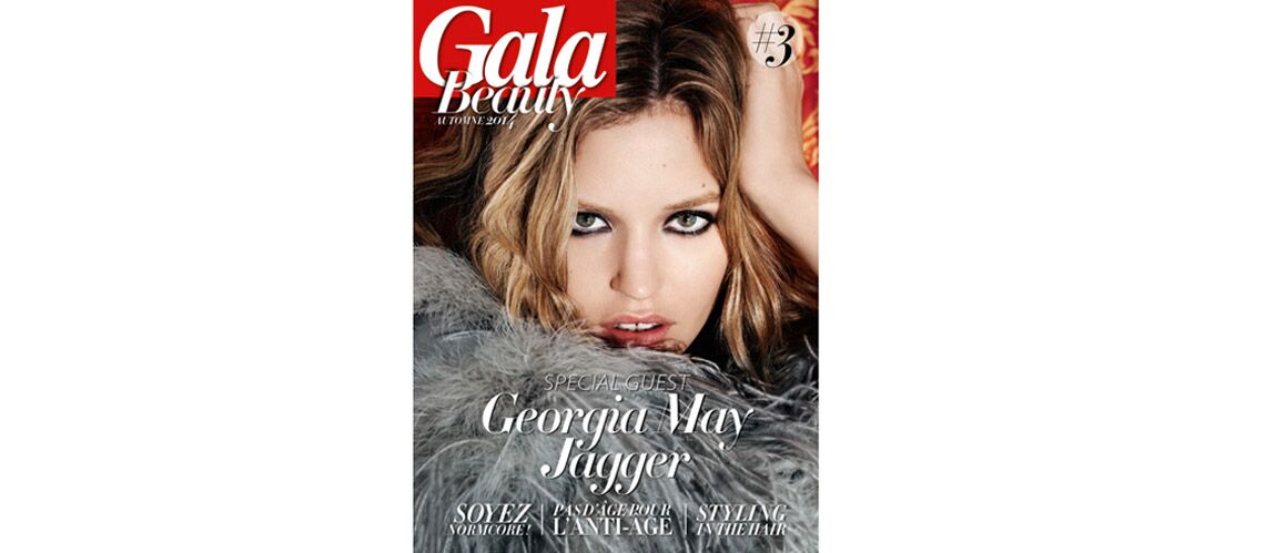 Geor­gia May Jagger à la Une du Gala Beauty #3