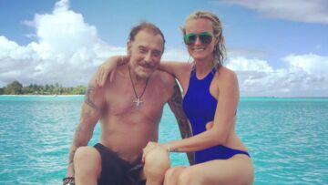Johnny et Laeticia au milieu des requins, à Bora Bora