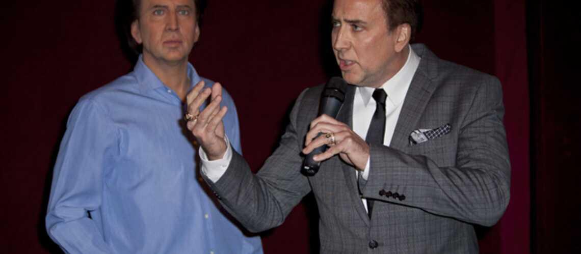 Photos: Nicolas Cage fait son entrée à Grévin