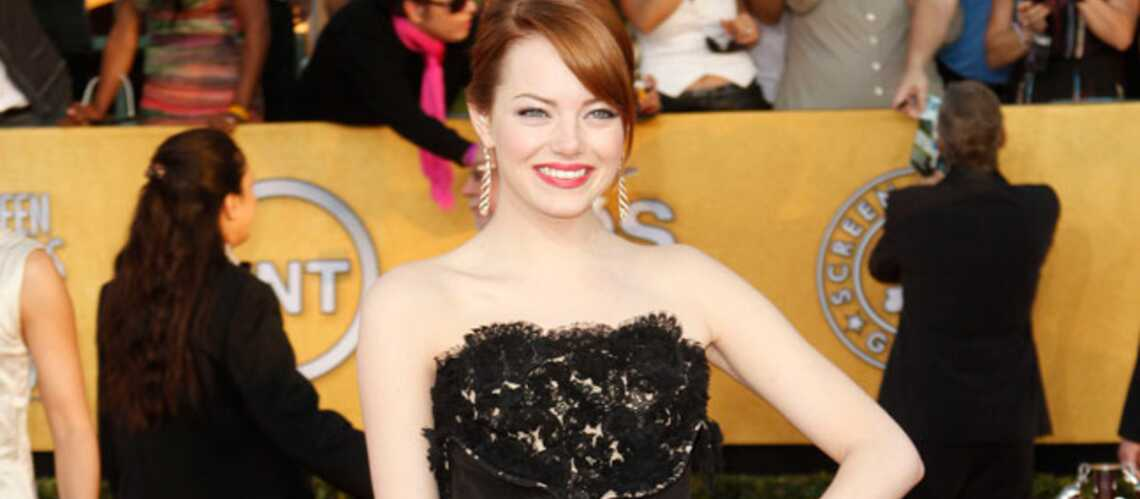 Emma Stone, Ange­lina Jolie: défilé de pin-up pop lors des SAG Awards