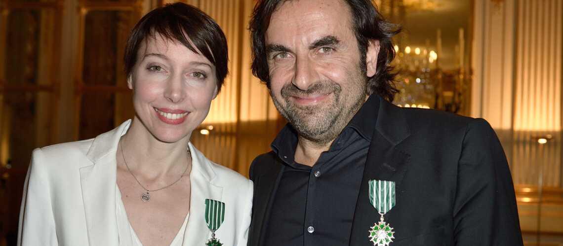 André Manoukian et Jeanne Cherhal, chevaliers des Arts et Lettres