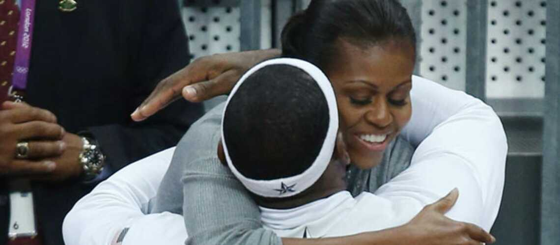 Michelle Obama, First lady des calins