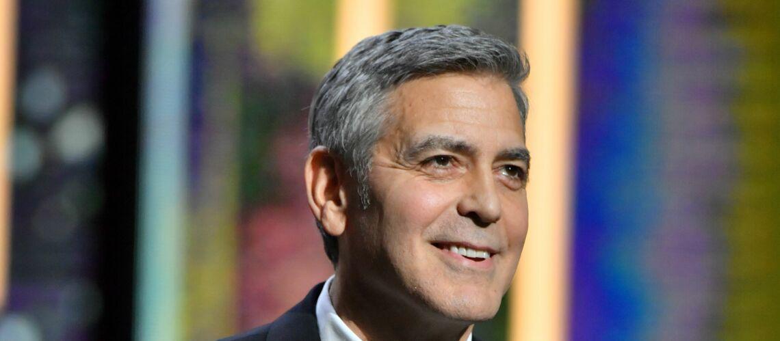 George Clooney plaisante sur l'arrivée des jumeaux: le futur papa ne cache pas son impatience