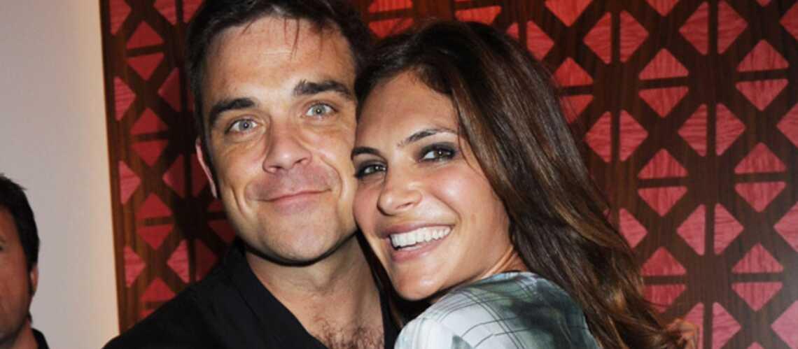 Robbie Williams va être papa
