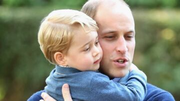 PHOTOS – William et le Prince George multi­plient les câlins