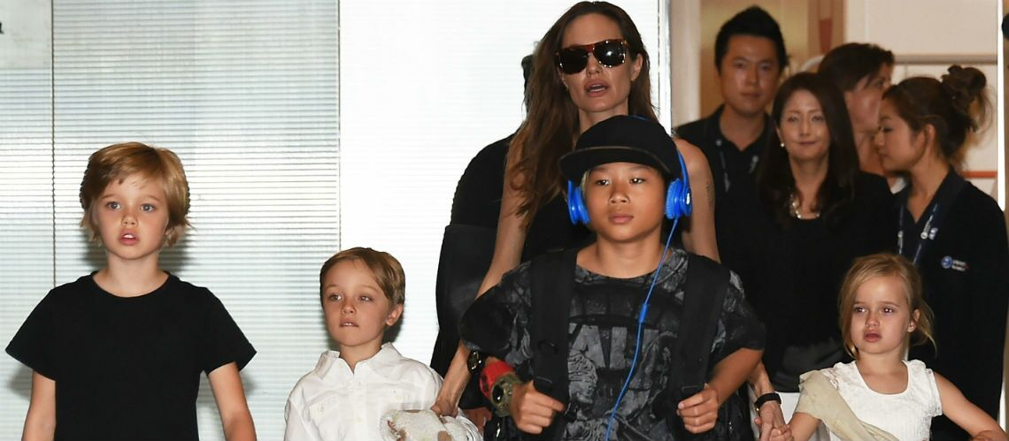 ange lina jolie et brad pitt leurs enfants tr s affec t s par le divorce gala. Black Bedroom Furniture Sets. Home Design Ideas