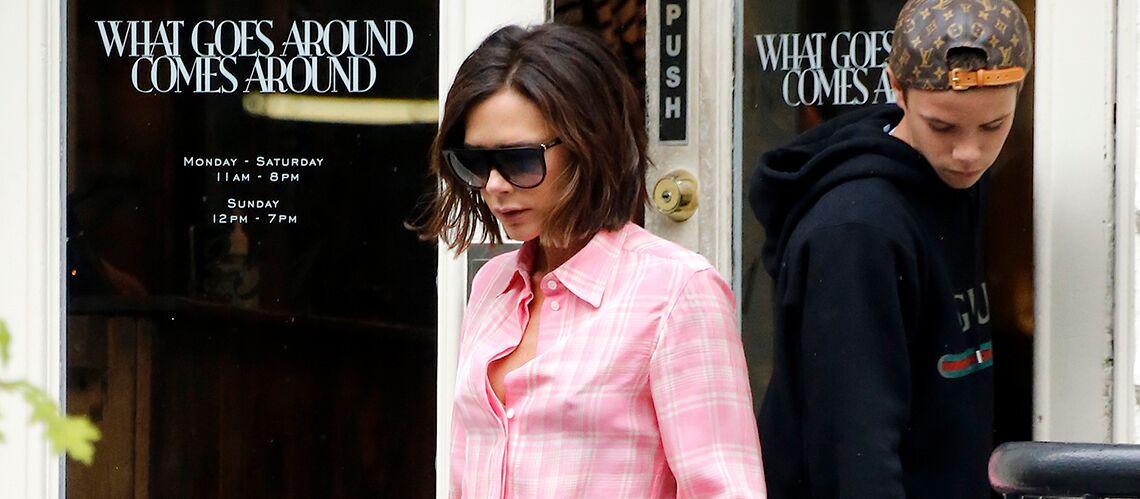 "PHOTOS – Victoria Beckham, Rihanna, Gigi Hadid… Elles osent la tendance du ""pyjama de ville"""