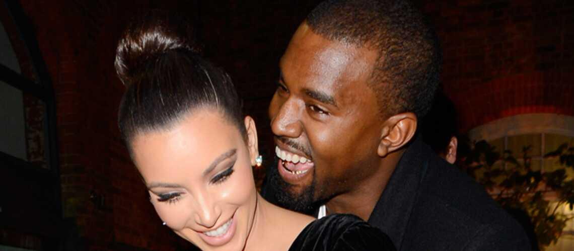 Kim Kardashian enceinte de Kanye West