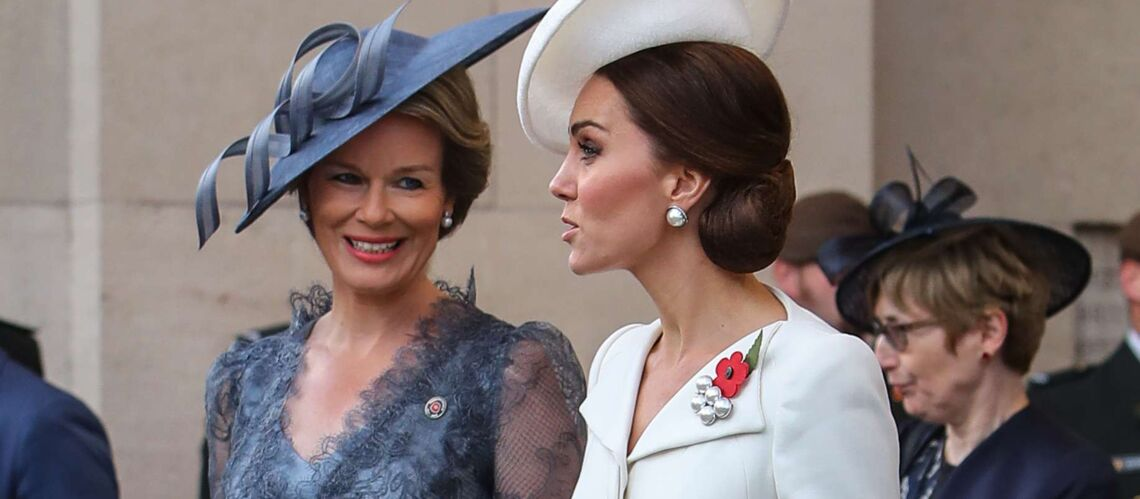PHOTOS – Kate Middleton, superbe et élégante en robe blanche