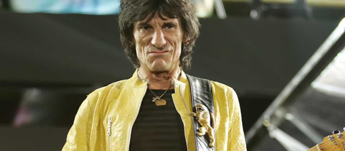 Ronnie Wood en cure de désin­tox'