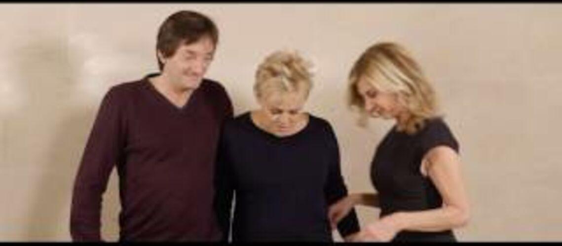 Vidéo – Muriel Robin, Michèle Laroque et Pierre Palmade s'aiment depuis 20 ans