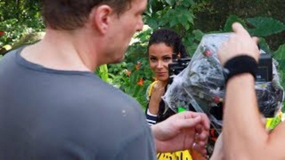 VIDEO EXCLU- Découvrez l'émotion de Shy'm sur le tournage de son dernier clip